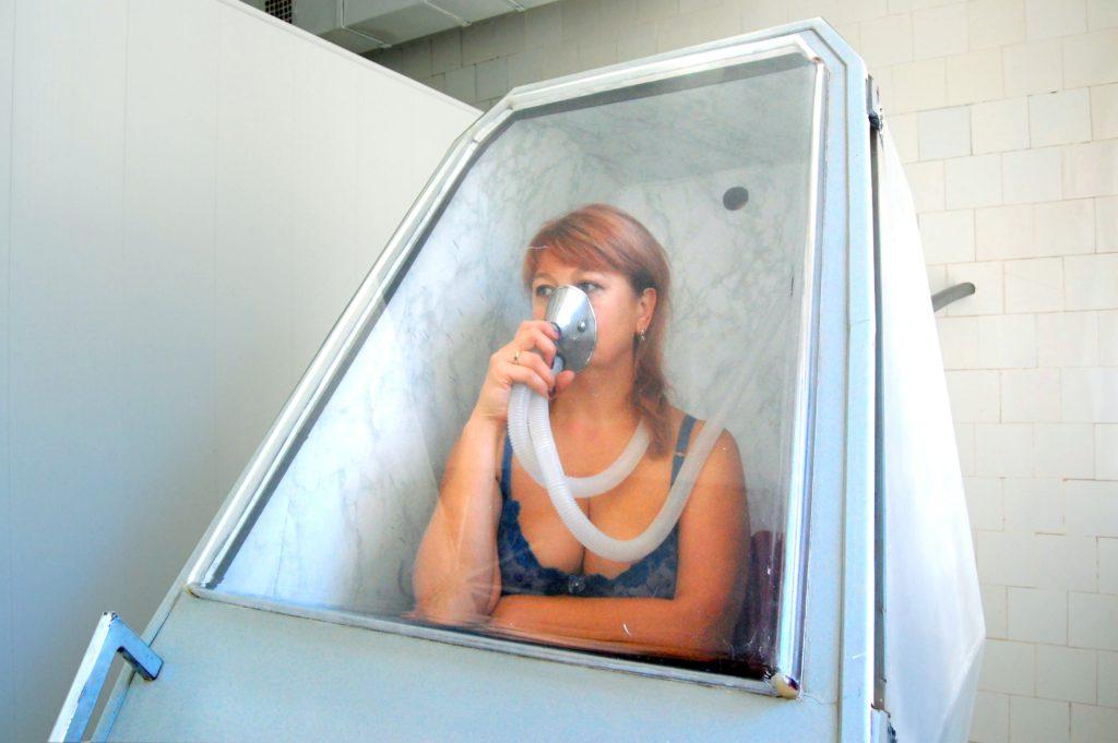 Сухі ванни в санаторії