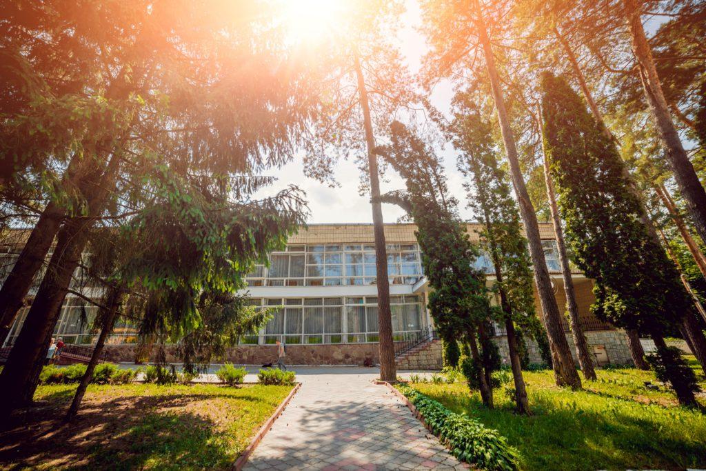 """История санатория """"Подолье"""" в г. Хмельник"""
