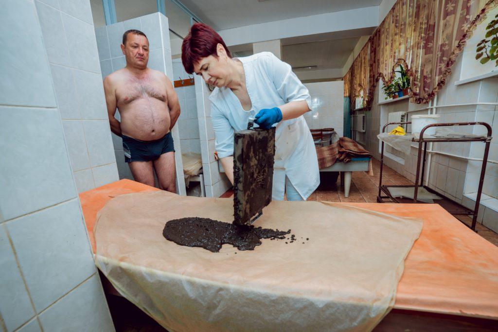 грязелікування торфом в санаторії