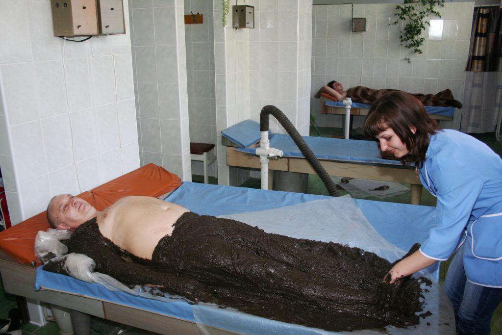 ГРЯЗЕЛЕЧЕНИЕ - ЛЕЧЕНИЕ С ПОМОЩЬЮ торфа - санаторий Подолье