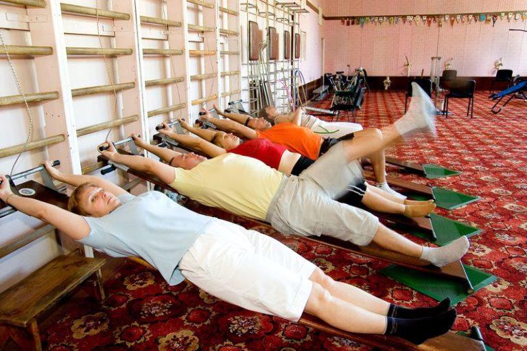 Санаторий Подолье - спорт процедуры 2